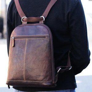 Jack Georges Backpack Crossbody NWT $222